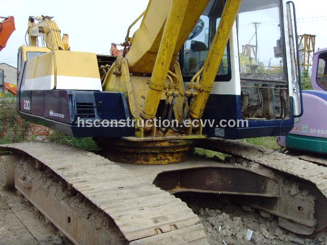Used Crawler Excavator Komatsu PC200-5 / Crawler Excavator Komatsu PC200-5