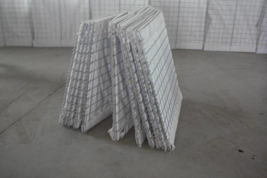Steel Hesco Bastion Wall Galvanized Sand Bags Welded