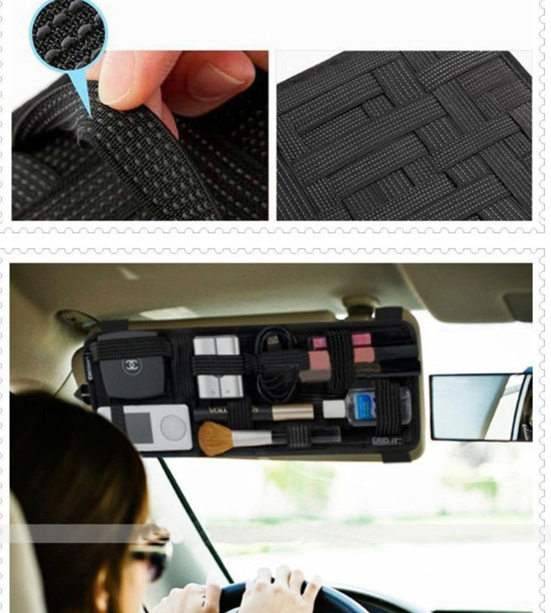 Organizer board for Car sun visor