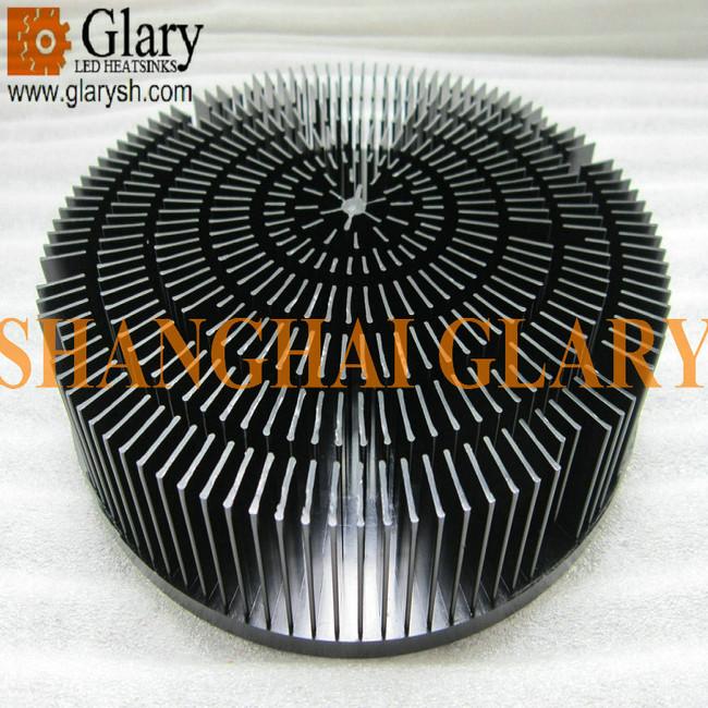 7 165 Quot Round Forging Heatsink 60w High Power Led Cooler