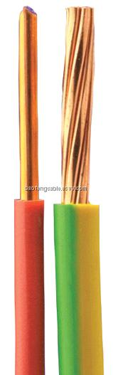 Solid Insulated Copper Wire : Solid copper conductor pvc insulated electrical wire