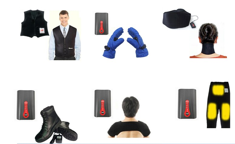 heating pad power heating device 37v 74v for glovespantsshoes etc