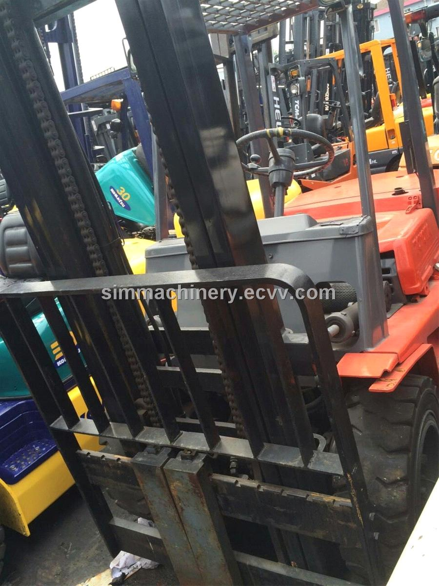 Used condition toyota 3t forklift diesel engine second for Forklift motor for sale