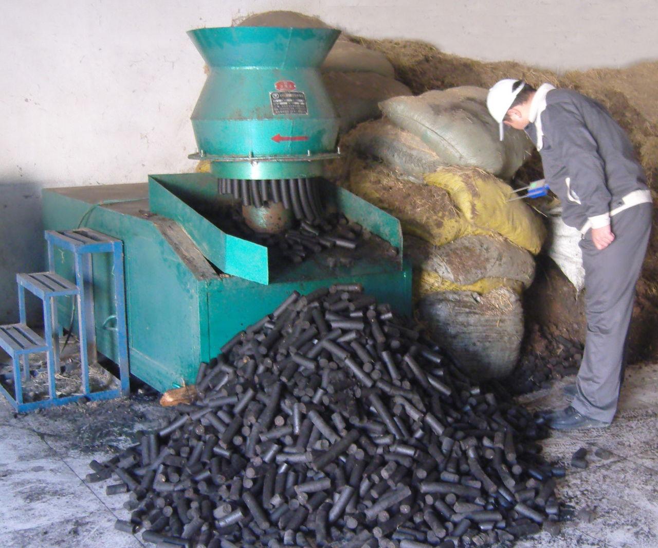 Biomass fuel briquette making machine purchasing souring - Briquette de charbon ...