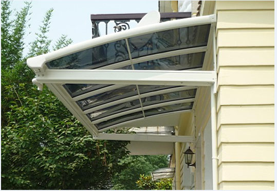 Wholesale Window Awnings With Aluminum Frame And
