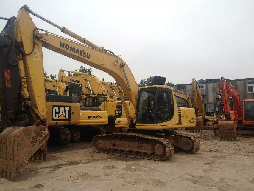 Used Komatsu Excavator PC200-6/ Komatsu Excavator PC200-6 PC200-6 PC200-7 PC200-8