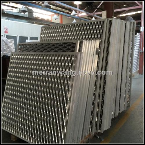 Decorative Expanded Metal Wall Panels Exterior Wall Panels