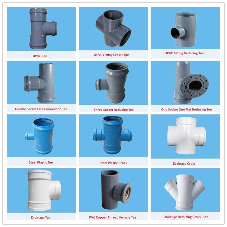 Hight quality pvc pipe fittings purchasing souring