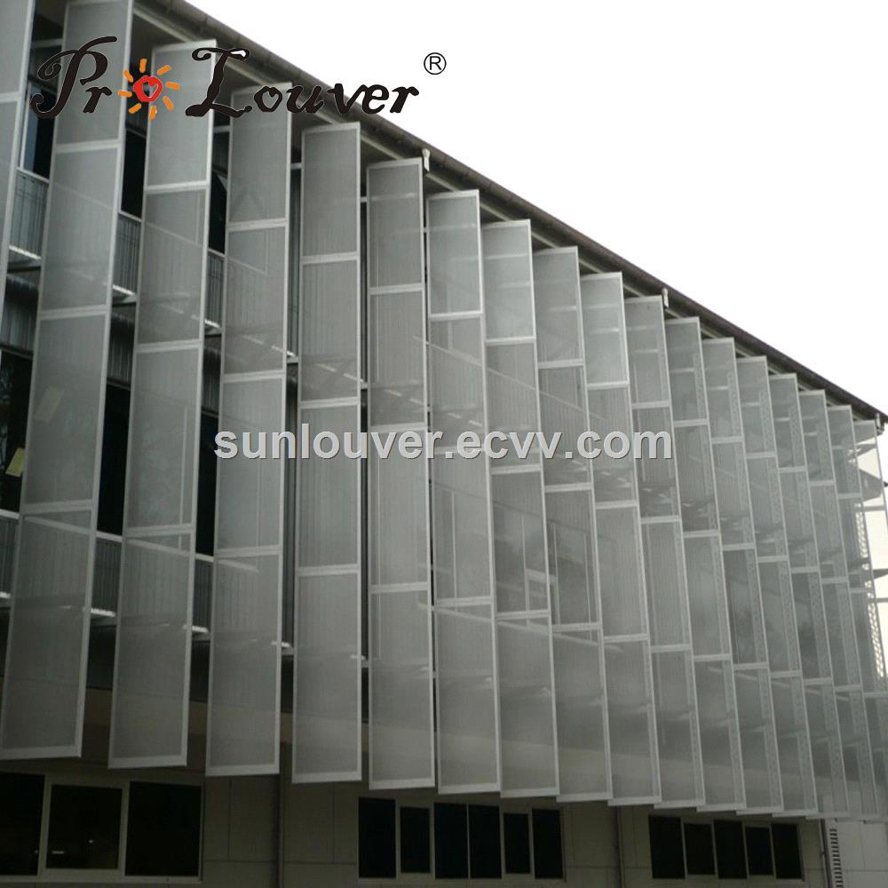 Perforated metal sunshade screen panel purchasing, souring