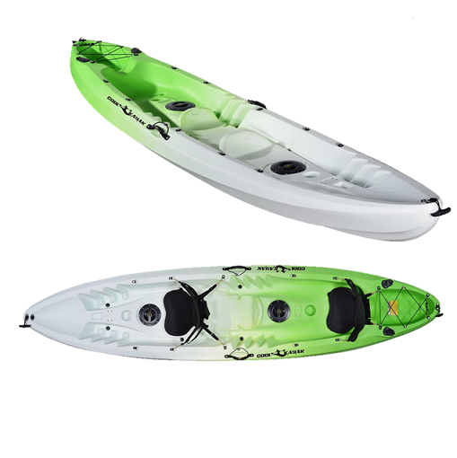 Double fishing kayak sit on top with high quality for sale for Double fishing kayak