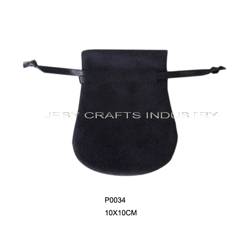 string velvet jewelry bag(P0034)