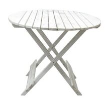 Foldable White Antique Customized Wooden Table / Desk
