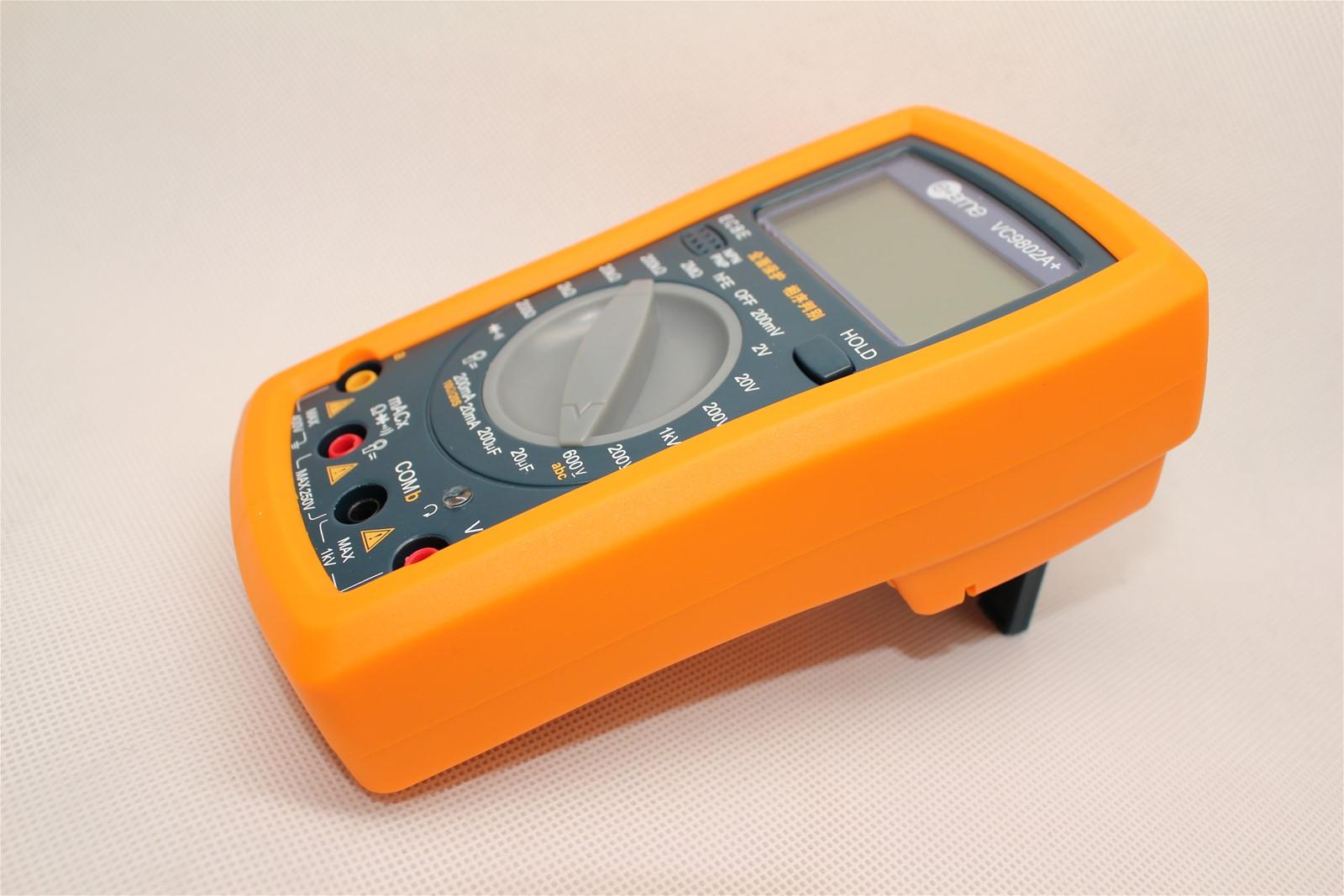 full protection dmm digital multimeter vc9802a  voltmeter