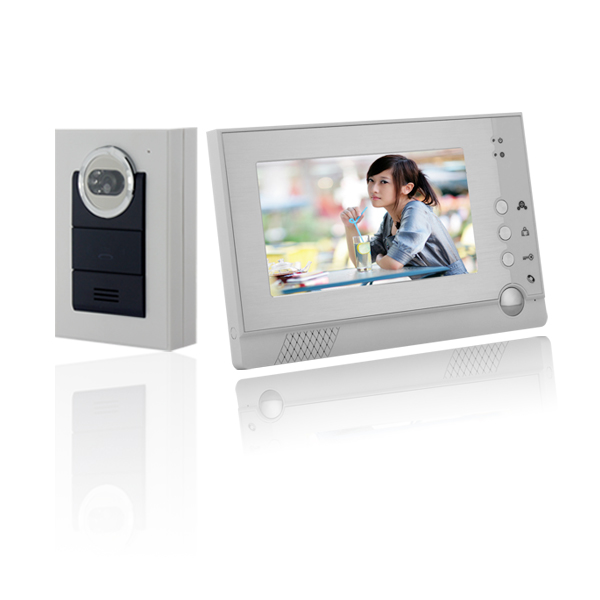 new 7inch video door phone,wireless Video doorphone