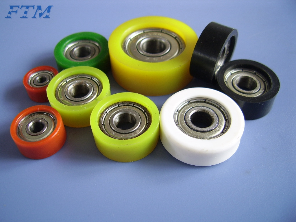 Small Plastic Pulley Wheel With Bearing Purchasing