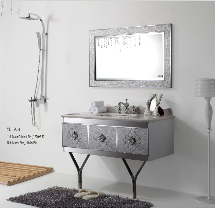bathroom cabinet bathroom vanities stainless steel cabinet mirror