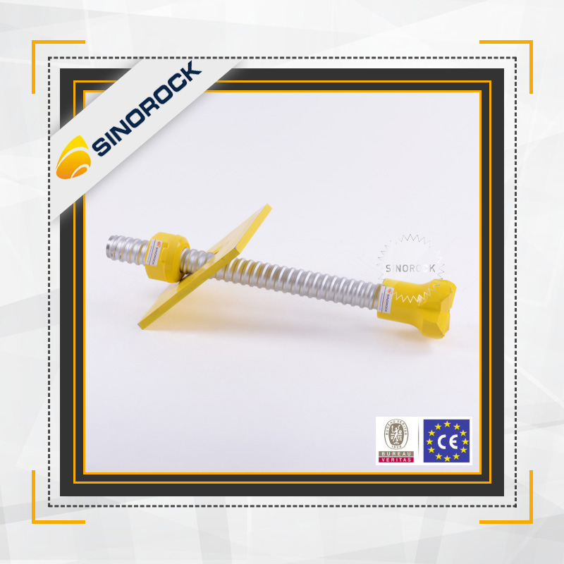 Rock Anchoring Services : Sinorock anchoring system self drilling rock bolt