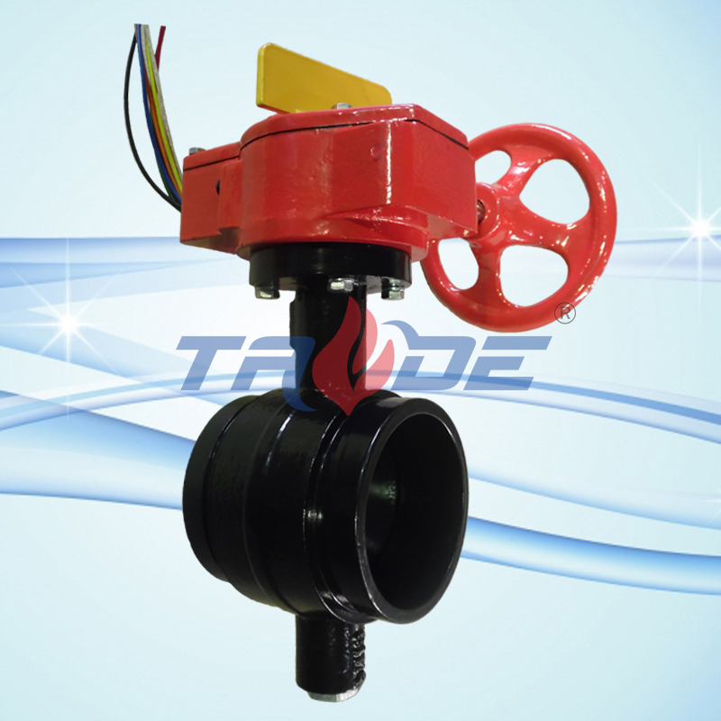 Grooved end butterfly valve purchasing souring agent