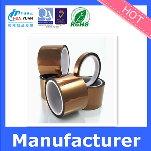 amber/ black silicone polyimide tape , electrical insulation ,