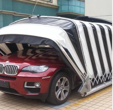 Solar Powered Outdoor Retractable Garage from China ...