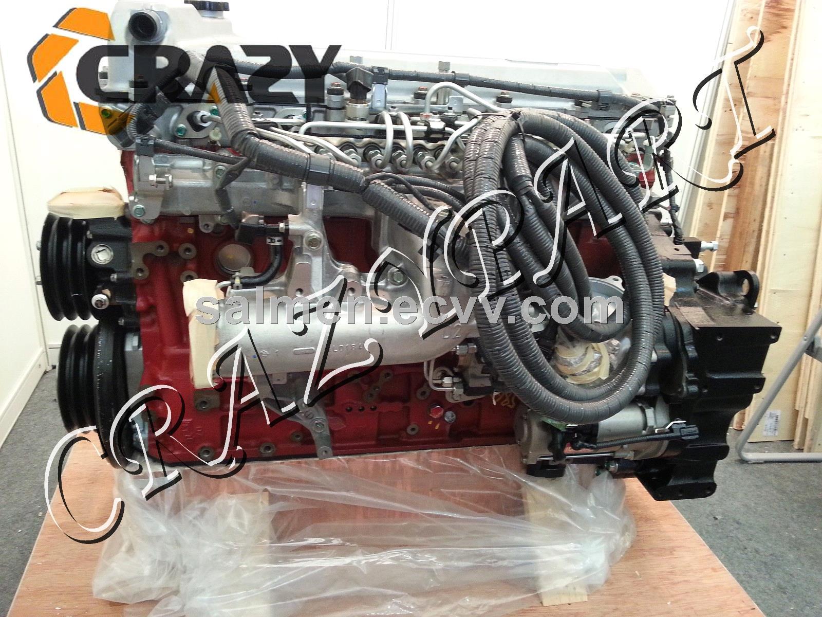 Hino Engine Parts : Hino j e complete engine assy excavator parts purchasing