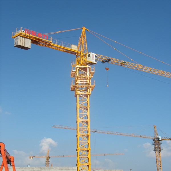 Tower Crane Manufacturer : Excellent t tower crane from famous manufacturer