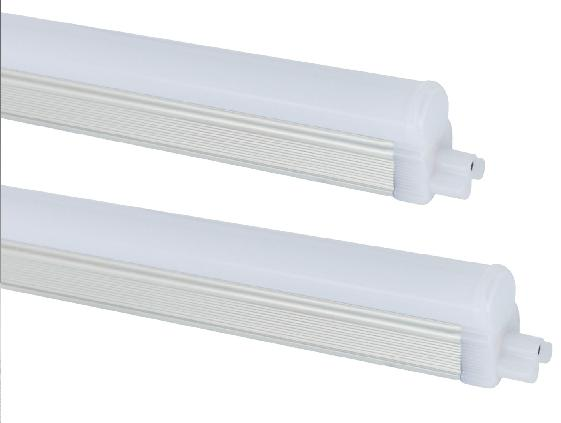 Integrated Design PVC Plastic Cover Extruded Aluminum Lamp body LED T5 Tube