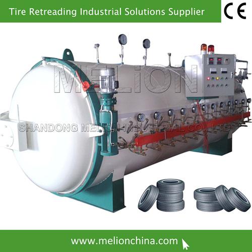 retreading tires machine