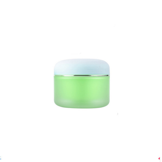 Double wall Plastic Skin Care Cosmetics Cream Empty Jars