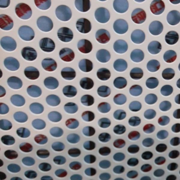 Round Aluminium Panel : Round aluminum perforated panels metal mesh