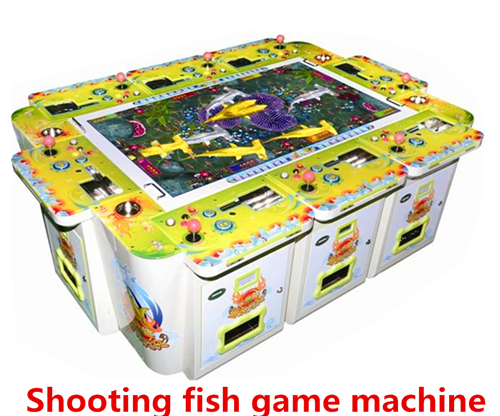 Newest coin operated gambling shooting fish game machine for Arcade fish shooting games