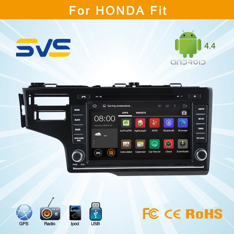 Android Car Dvd Player For HONDA Fit 2014 With GPS