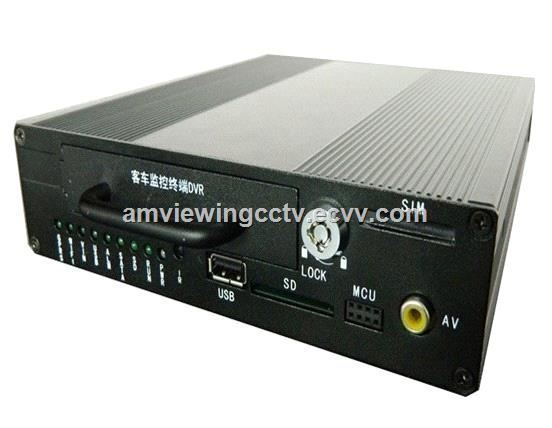 4ChannelcarMobileDVRGpsGprs3GNetworkForCarBusTaxivehicledvr3gMobileDVR