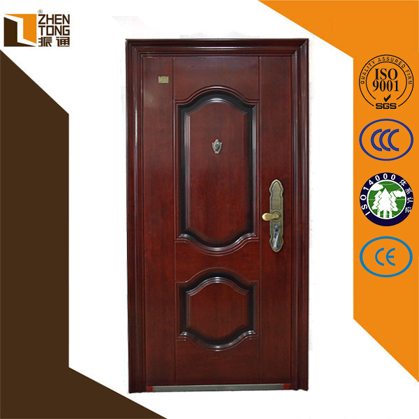 2016 china new design galvanized security steel door for New door design 2016