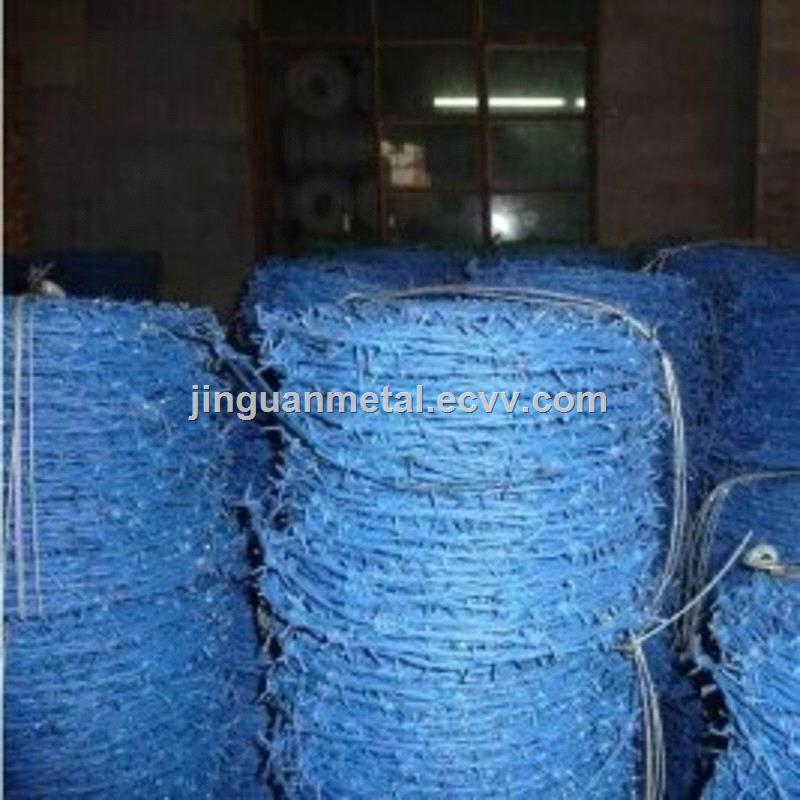 Hot dip galvanized barbed wire/pvc coated barbed wire
