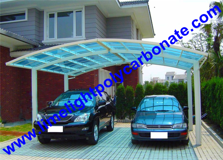 Car Awning Canopy Carport Aluminum Metal Shed Outdoor Parking Garden