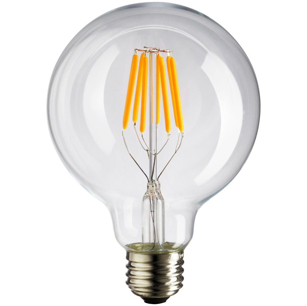 E26 27 B22 Led Dimmable Filament Bulb Replace Traditional Bulb Lighting Gnh G80 G95 G125