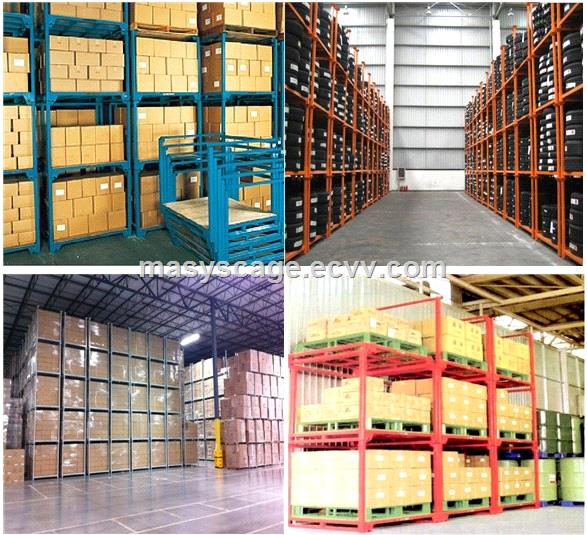 PowderCoatedMetalStackingTireRPowderCoatedMetalStackingTireRacksForStorageWarehouseacks