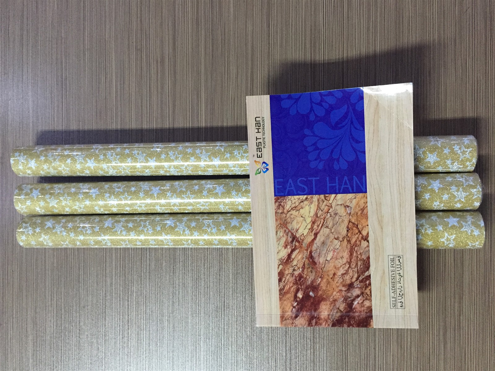 Wall paper pvc printed self adhesive foil for furniture for Furniture decoration paper