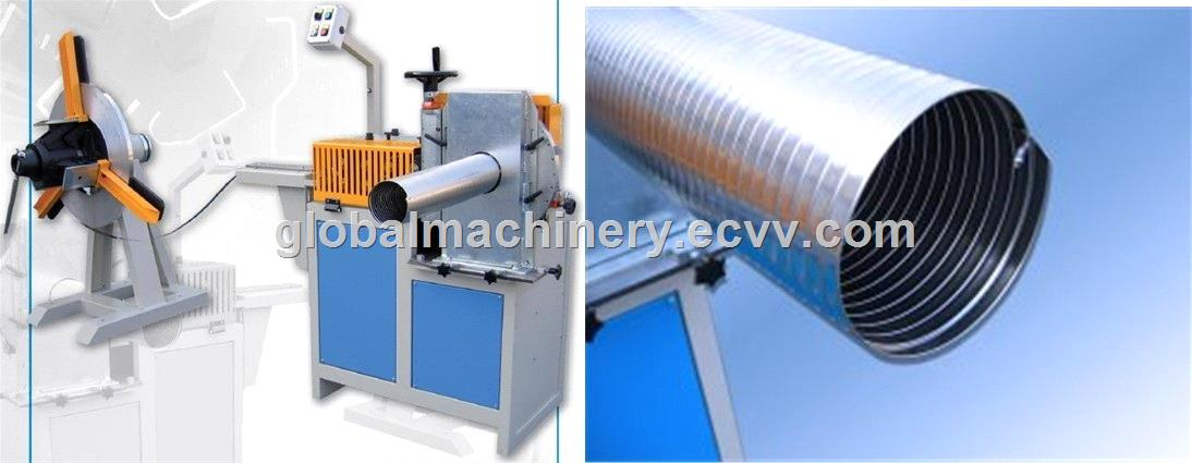 Spiral air duct making machine purchasing souring agent