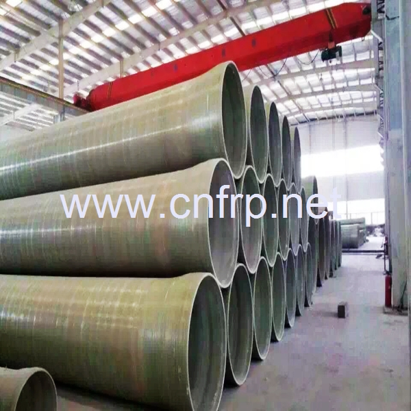 Frp pipe with reliable key lock for high working pressure