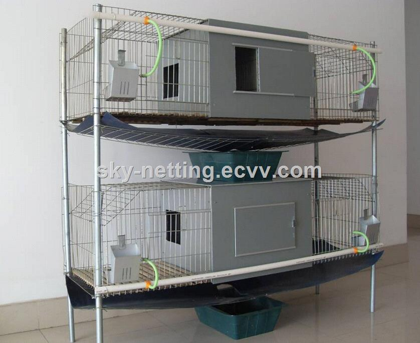 Cheap low carbon steel galvanized welded rabbit cage for Cheap c c cages