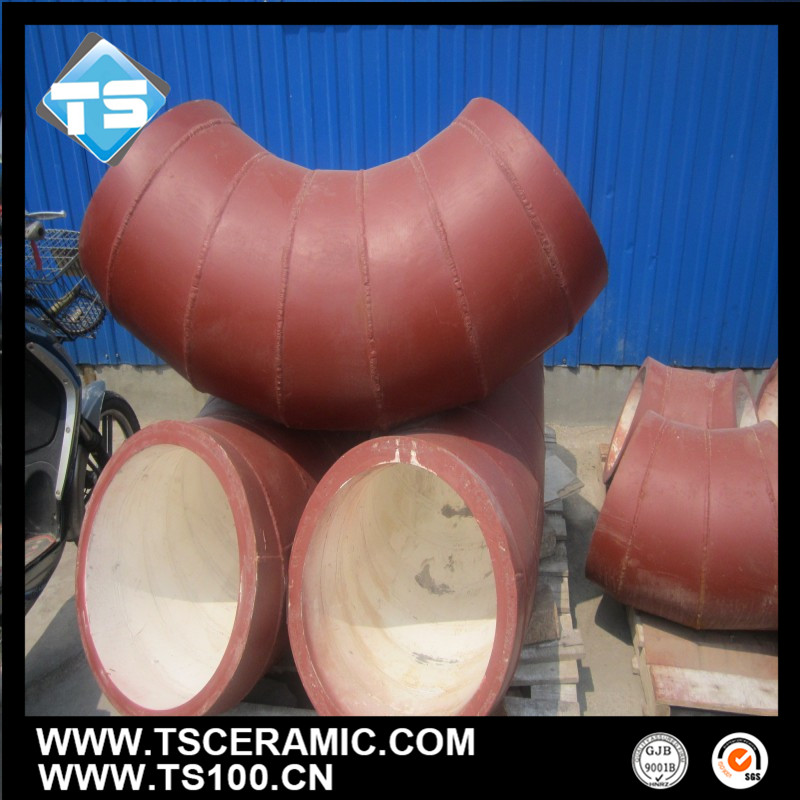 Wear Resistant 92 96 Alumina Ceramic Lined With