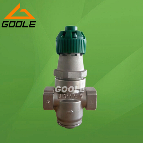Direct acting bellows steam pressure reducing valve
