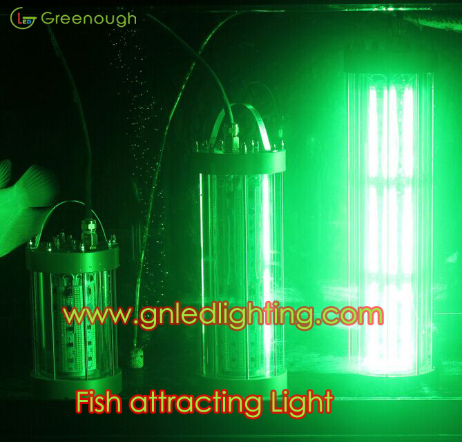dc24v 220v 110v fish attractor light green underwater fish light, Reel Combo