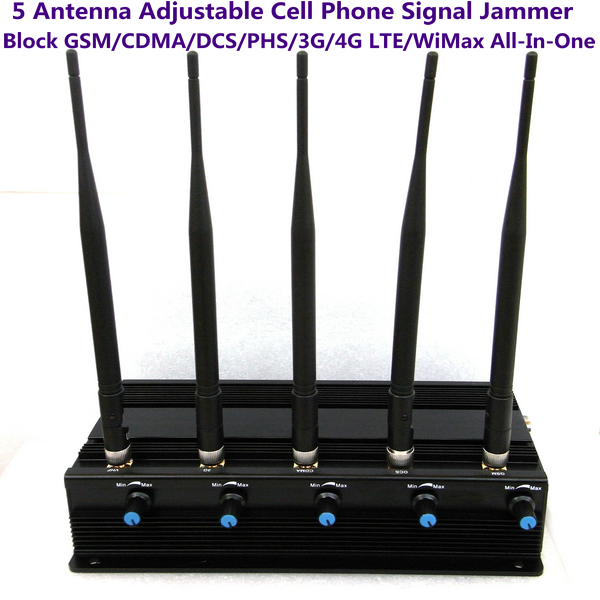 Blocking gps tracking in car - Portable GPS Cell Phone Signal Jammer Antenna