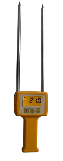 Electrical Resistance Meter : Tk s rice moisture meter with electrical resistance