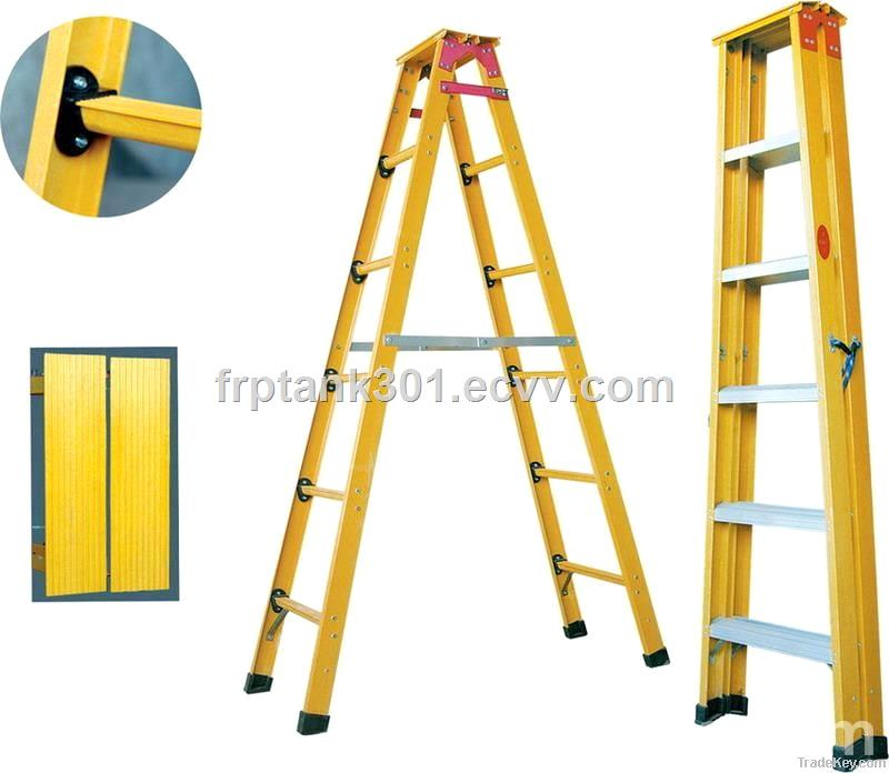 FRP Platform  ladders supply ISO9001-2008(factory direct sell)