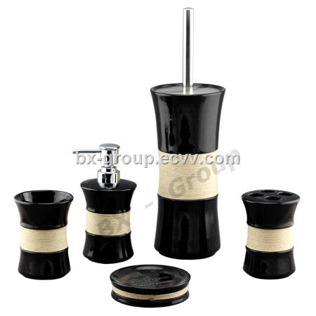 Ceramic bathroom set purchasing souring agent for Ceramic bathroom bin