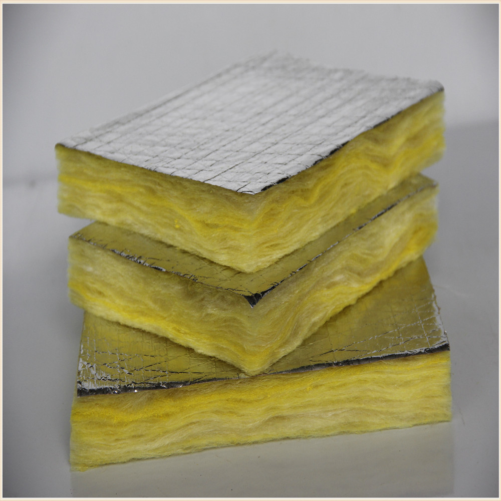 High quality fire fighting wall insulation board glass for Glass wool insulation